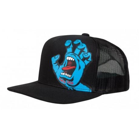 CASQUETTE SANTA CRUZ YOUTH SCREAMING HAND CAP - BLACK