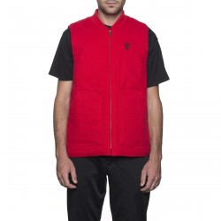 VESTE HUF KILO WHISKEY - RED