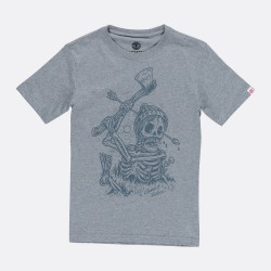 T-SHIRT ELEMENT GROUNDED BOY - GREY HEATHER