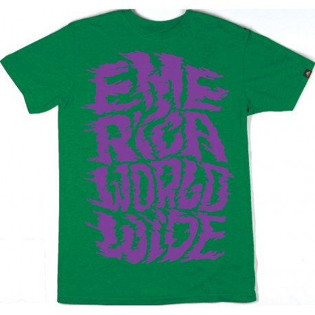 TEE-SHIRT EMERICA - RUCKUS - GREEN HEATHER