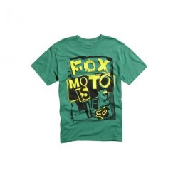 TEE-SHIRT FOX - UPPER VISION - GREEN