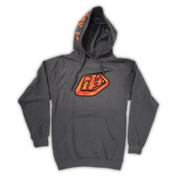 SWEAT TROY LEE DESIGNS - CAMOLOGO ZIP HOOD - CHARCOAL