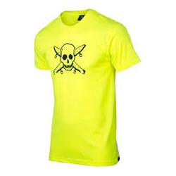 TEE SHIRT FOURSTAR NEON PIRATE - YELLOW