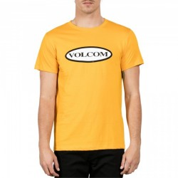 T-SHIRT VOLCOM TRACTOR - YELLOW