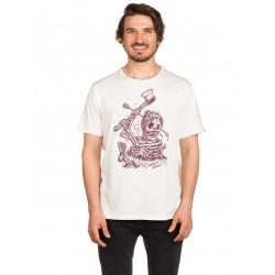 T-SHIRT ELEMENT GROUNDED SS - BONE WHITE