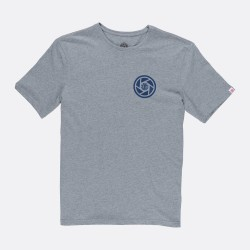 T-SHIRT ELEMENT CANOPY SS - GREY HEATHER