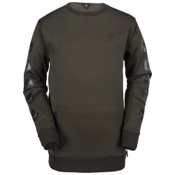 SWEAT VOLCOM PAT MOORE FLEECE - MILITARY