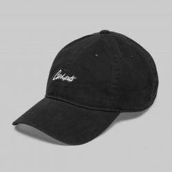 CASQUETTE CARHARTT STRAY CAP - BLACK WAX
