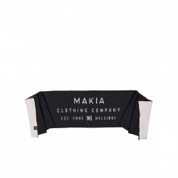 ECHARPE MAKIA MERINO LABEL SCARF - BLACK