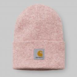 BONNET CARHARTT ACRYLIC WATCH HAT - SOFT ROSE HEATHER