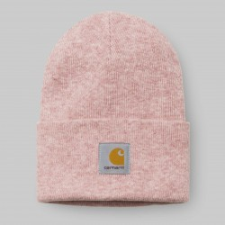 BONNET CARHARTT WIP ACRYLIC WATCH HAT - SOFT ROSE HEATHER