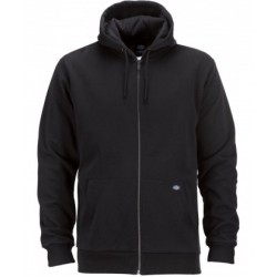 SWEAT ZIP DICKIES KINGSLEY - BLACK