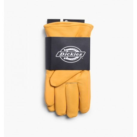 GANTS DICKIES LINED LEATHER GLOVE - TAN