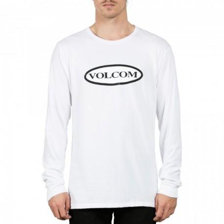 TEE SHIRT VOLCOM TRACTOR LS - WHITE