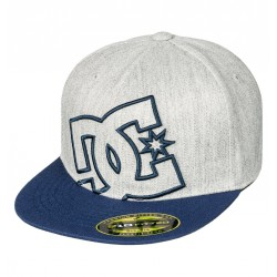 CASQUETTE DC KID YA HEARD - DARK INDIGO & HEATHER GREY