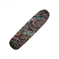 BOARD MAGENTA GLEN FOX SQUARE SHAPE - 8.4""