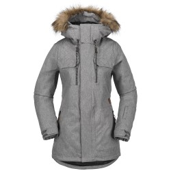 VESTE VOLCOM SHADOW INSULATED JACKET - HEATHER GREY