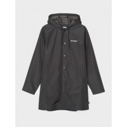 VESTE STUSSY TONY LONG HOODED COACH - BLACK