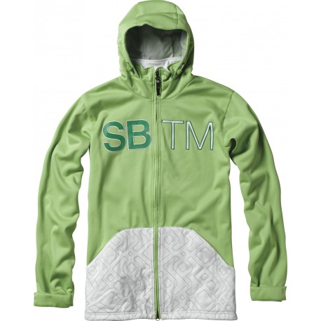 VESTE SPECIAL BLEND DOUBLE TEAM BONDED FLEECE - MOJITO