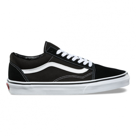CHAUSSURES VANS OLD SKOOL - BLACK / WHITE