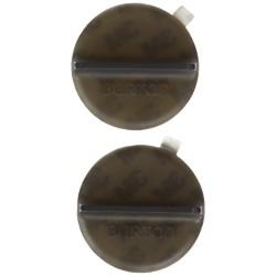 MINI SCRAPER BURTON MATS - TRANSLUCENT BLACK