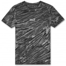 T-SHIRT HUF AMBUSH TIE DYE ROSE TT - BLACK