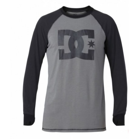 DC SHOES FIRST LAYER DINGY TOP BLACK