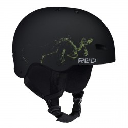 CASQUE RED TRACE GROM KID - BLACK