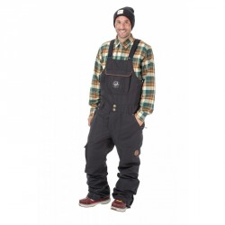 PANTALON SNOW PICTURE YAKOUMO BIB 2018 - BLACK