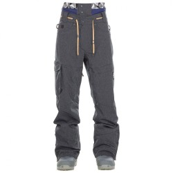 PANTALON SNOW PICTURE UNDER BLACK - DENIM BLUE