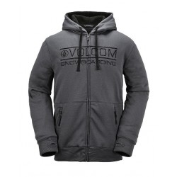 VESTE VOLCOM SHERPA FLEECE - CHARCOAL