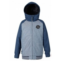 VESTE BURTON GAMEDAY BOY - DENIM CHAMBRAY / MOOD INDIGO