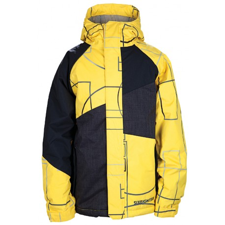 VESTE 686 BOY MANUAL GEOMETRY INSULATED JACKET