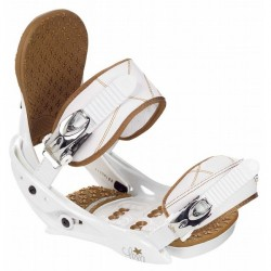 FIXATION BURTON LEXA - WHITE SADDLE BROWN