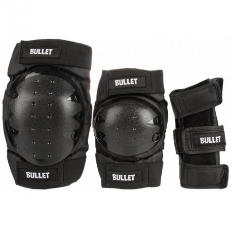 PACK PROTECTION KIDS BULLET - BLACK