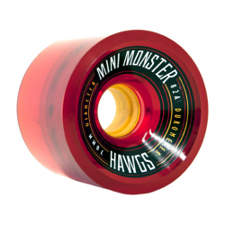 ROUE HAWGS MINI MONSTER RED 70MM - 82 A
