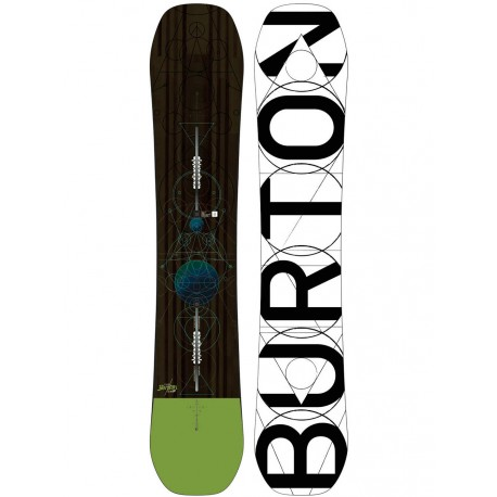 SNOWBOARD BURTON CUSTOM FLYING V 2018