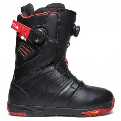 BOOTS DC SNOWBOARDING JUDGE 2018 - BLACK CHILLI PEPPER
