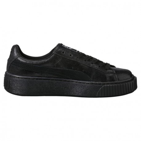 CHAUSSURE PUMA BASKET PLATFORM NS - BLACK