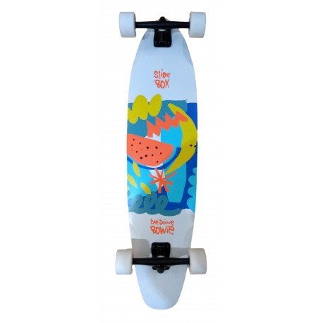 LONGBOARD PINTAIL SLIDEBOX X CAPITAINE BOWIE