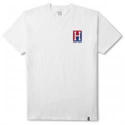 T-SHIRT HUF STADIUM RELAY SS - WHITE