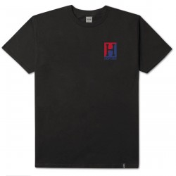 T-SHIRT HUF STADIUM RELAY SS - BLACK