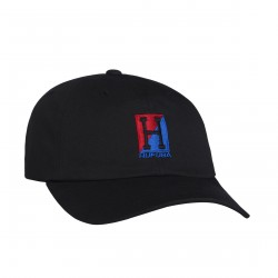 CASQUETTE HUF STADIUM RELAY CURVED VISOR - BLACK