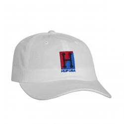 CASQUETTE HUF STADIUM RELAY CURVED VISOR - WHITE