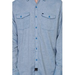 CHEMISE KREW HALL SHIRT XL - BLUE