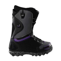 BOOTS THIRTYTWO LASHED FASTTRACK BLACK / PURPLE