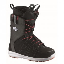 BOOTS SALOMON LANCH DENIM - BLACK RED