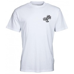 T-SHIRT SANTA CRUZ OGSC TEAMRIDER - WHITE