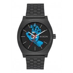 MONTRE NIXON TIME TELLER X SANTA CRUZ - BLACK / SCREAMING HAND