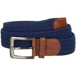 PICTURE BRAID BELT - BLUE
